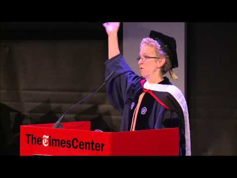 Sarah Bartlett - Dean, The CUNY Graduate School of Journalism - Commencement 2014