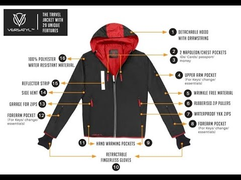Checkout the Best Multi functional and Multi purpose Global Travel Jacket