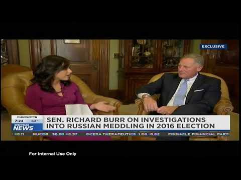 Senator Burr Interview w/Samantha-Jo Roth for Capital Tonight, Spectrum News14