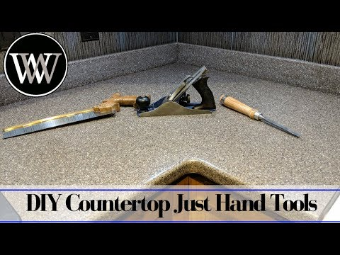 how-to-make-a-solid-surface-countertop-with-just-hand-tools---corian