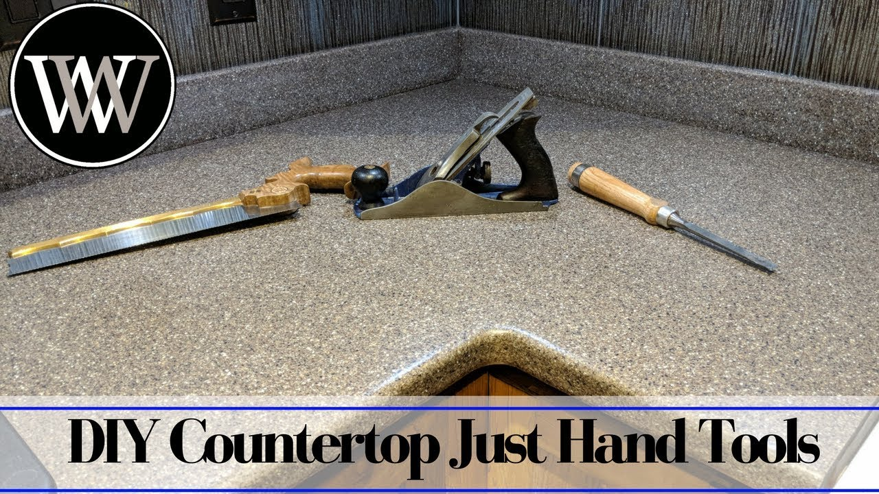 How To Make A Solid Surface Countertop