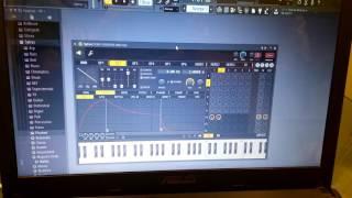 як вибрати інструмент піаніно в FL STUDIO 12 piano