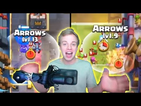 CHIEF PAT INSANE PREDICTION ARROWS! | Clash Royale BEST Plays Of The Week #22