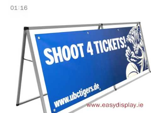 Banner Ad Board - Easydisplay.ie
