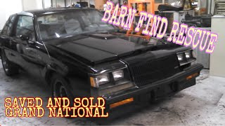 1987 Buick Regal Grand National BARN FIND with 34000 miles