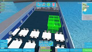 Cruise Ship tycoon ROBLOX Pelican Class