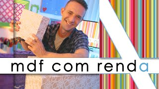 """Gambar cover """"REVESTIMENTO DE MDF COM RENDA"""""""