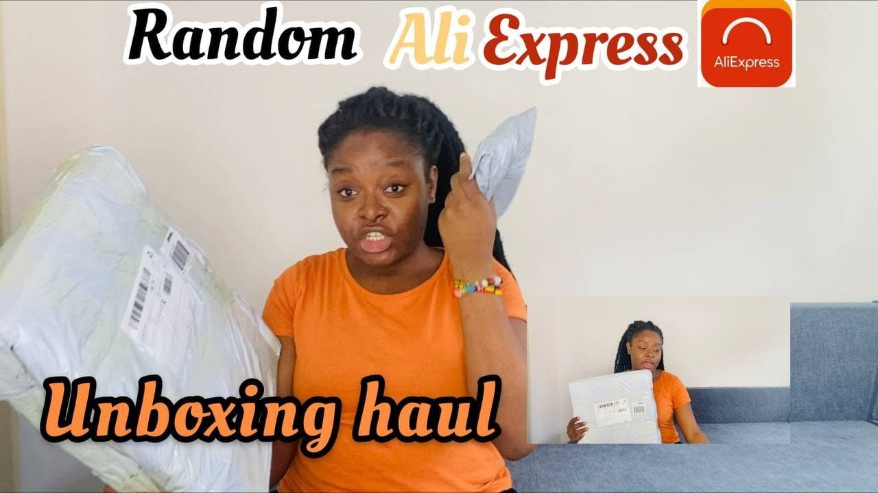 UNBOXING ALIEXPRESS PACKAGES /REVIEWING/DELIVERY