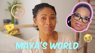 Meeting Oprah, Where I've been +  Life Lessons: Maya's World