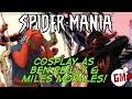 SPIDER-MANIA - Scarlet Spider & Miles Morales Cosplay Tutorial!