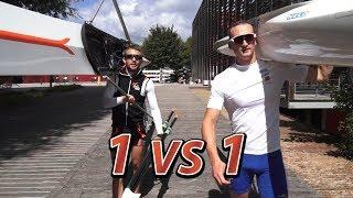 Rowing vs Kayaking in Paris - 1vs1 by HEROWS
