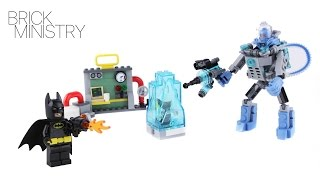 LEGO 70901 The Batman Movie ●  MR.  FREEZE ICE ATTACK