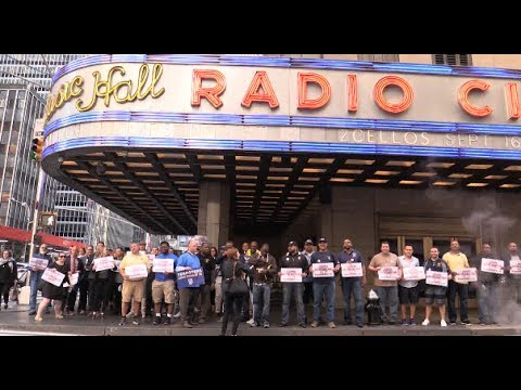 TEAMSTERS Support #FairnessForCasting Broadway Casting Directors Rally for Union Contract 6/8/17