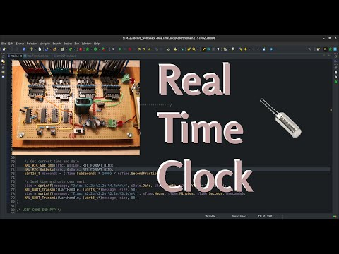 Real Time Clock in STM32 | VIDEO 40