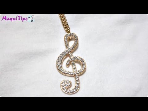 Collar / Necklace Musical Note Buyincoins