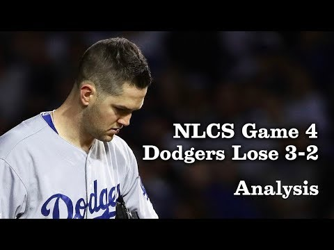 What Can the Dodgers Learn from Losing Game 4 of the NLCS?   Los Angeles Times