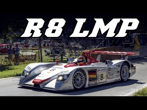 2000 Audi R8 LMP demo run (incl idle and revving)