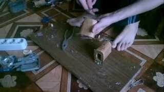 перемотка трансформатора часть 1(видео урок. перемотка трансформатора тс 180-2 для блока питания., 2013-04-01T17:53:12.000Z)