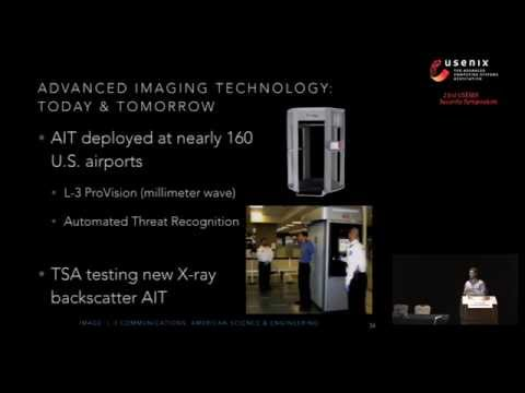 Security Analysis of a Full-Body Scanner