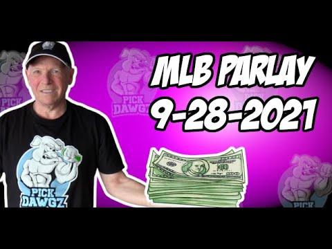 Free MLB Parlay For Today Tuesday 9/28/21 MLB Pick & Prediction MLB Betting