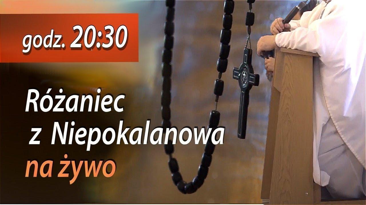 Różaniec z Niepokalanowa 23.07 g. 20:30 na żywo   NIEPOKALANÓW Kaplica św. Maksymiliana Kolbe