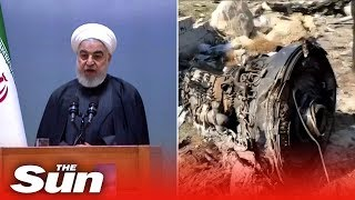 Iran President Hassan Rouhani calls downing of Ukrainian plane an 'unforgivable error'