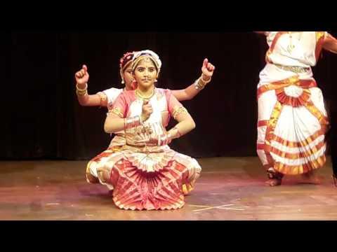 Bharatnatyam  dance by Mrinmayee on maa saraswati sharde🌹