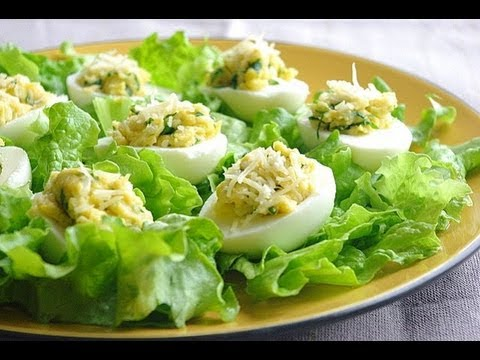 Recette D Oeufs Durs Farcis Boiled Eggs Staffed Recipe Youtube
