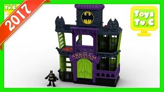 Best Toys For Kids Imaginext DC Super Friends Arkham Asylum - Tv Ad 2017 [Mr Losta]