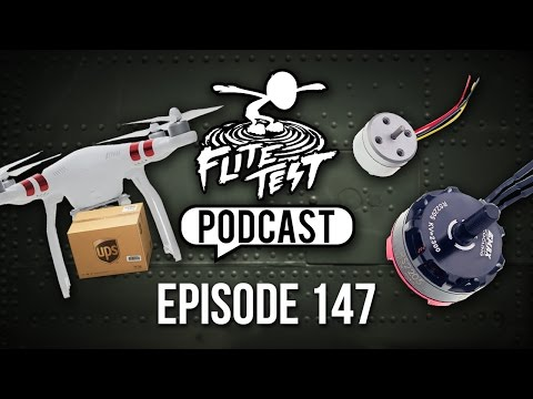 UPS Drone Delivery and Emax Micro Motors | FT Podcast 147