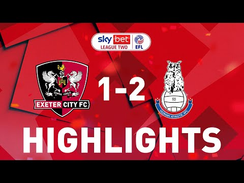 Exeter City Oldham Goals And Highlights