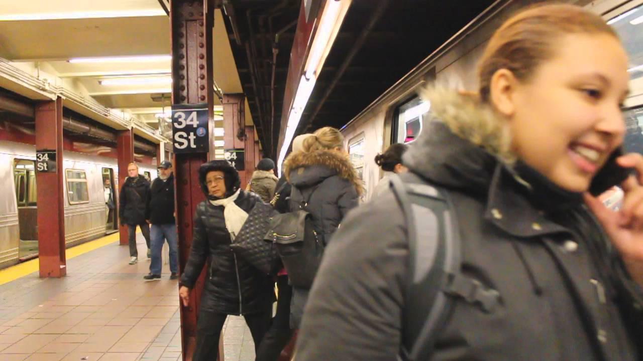 MTA New York City Subway Coney Island Bound R160A (Q ...