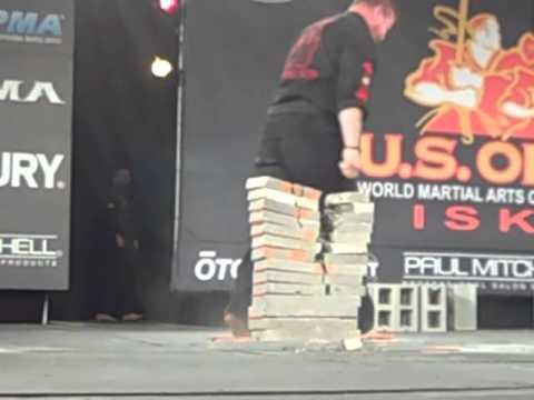 ISKA Power Elbow light and heavyweight 2013 US Open