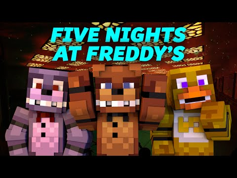 Minecraft FNAF - MY SCARY NEW JOB - Five Nights at Freddy's (Minecraft Roleplay)