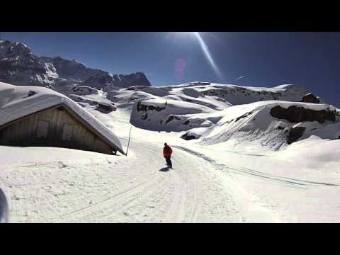 Grindelwald-First - Epic Off Piste Run Safari - Part 3 BEST