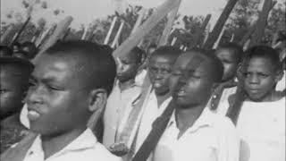 Biafran Children Train as Soldiers   Aba   Nigerian Civil War   January 1968