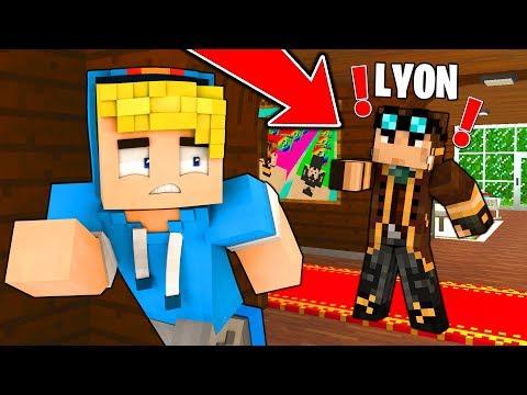 LYON MI VEDE IN CASA SUA... - Minecraft ITA