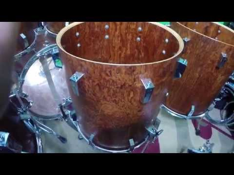 Sonor Signature Heavy Bubinga - Topless Kit Tour MUST SEE!