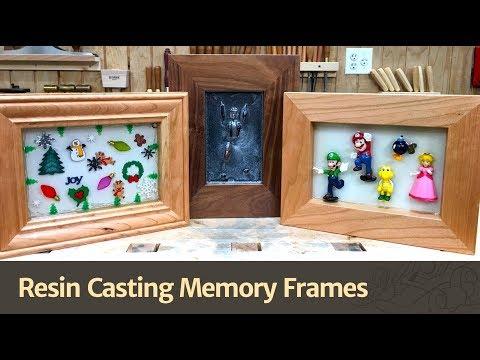 Resin Cast Memory Frames - WFC2017