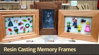 Resin Cast Memory Frames - WFC2017