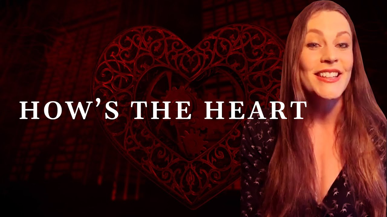 Floor Jansen singing HOW'S THE HEART during live stream