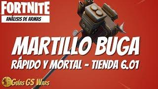 BUGA TUNEAD Hammer ANALYSIS ? BRUTAL! Arms Shop FORTNITE 6.01