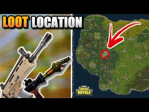 SCAR LOCATION! THE BEST LOCATION FOR LEGENDARY LOOT In FORTNITE!  INSANE LOOT & SCAR LOCATION!