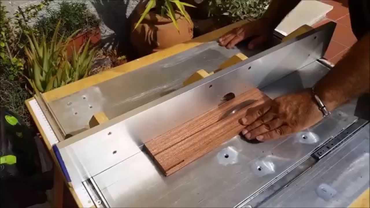 Costruire una scacchiera 1 parte youtube for Costruire una semplice capanna di legno
