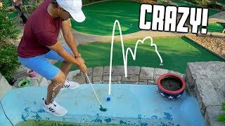 Crazy 2v2 Mini Golf Battle For ($100) | It All Comes Down To This (Part 2)