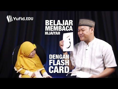 Belajar Huruf Hijaiyah dengan Flashcard Huruf Hijaiyah Yufid EDU (seri 027)