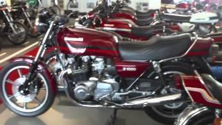 Kawasaki Open House 2012 - Kawasaki Classic Bikes 70's und 80's