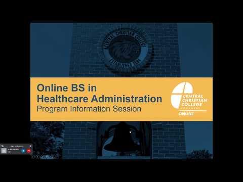 Online BS in Healthcare Administration Program | Webinar Recording