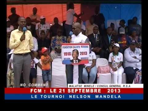 21 Décembre 2013 Tournoi Nelson Mandela Cup à Kipushi (Katanga, RD Congo)