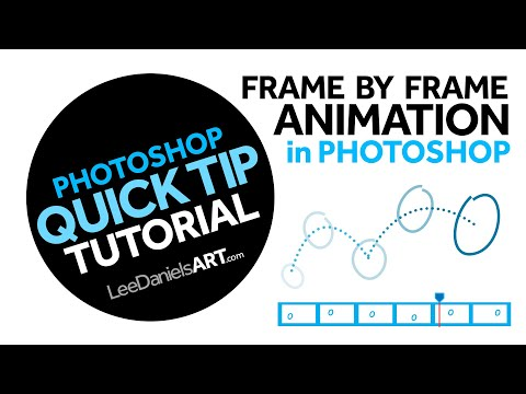 Photoshop Tutorial | QUICK TIP | Basic Frame by Frame Animation thumbnail